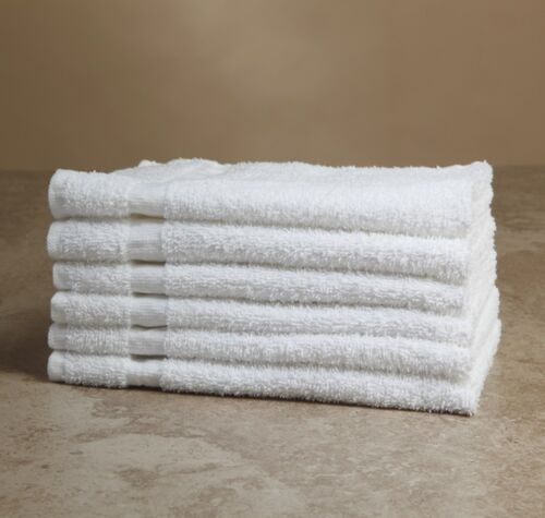 24 new bright white econ 16x27 3# hand towels gym salon tanning hotel