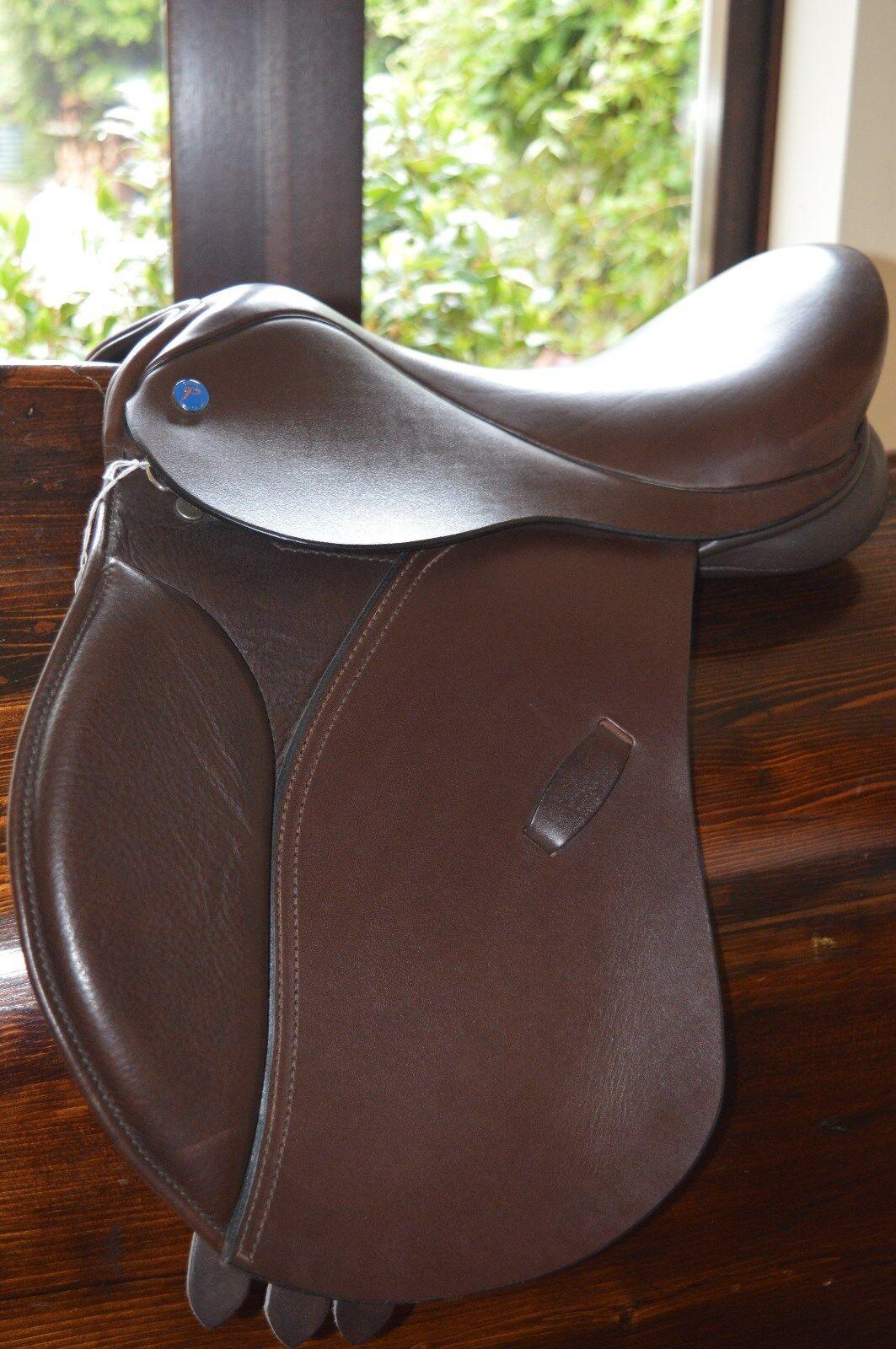 Pony Saddle Shires Havanna Brown wide fit 14 14.5