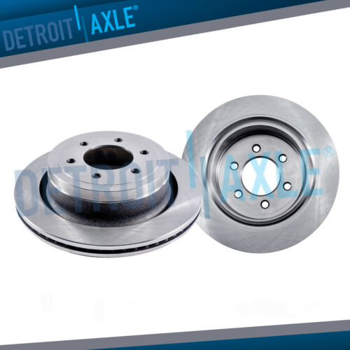 """Front Disc Brakes Rotor for 2006 2007 2008 2009 2010 Hummer H3 H3T 12.4/"""" 6-Lugs"""