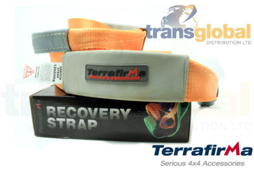 Off Road Recovery Snatch Strap 11T Load 9mx80mm - Terrafirma - TFSS11000
