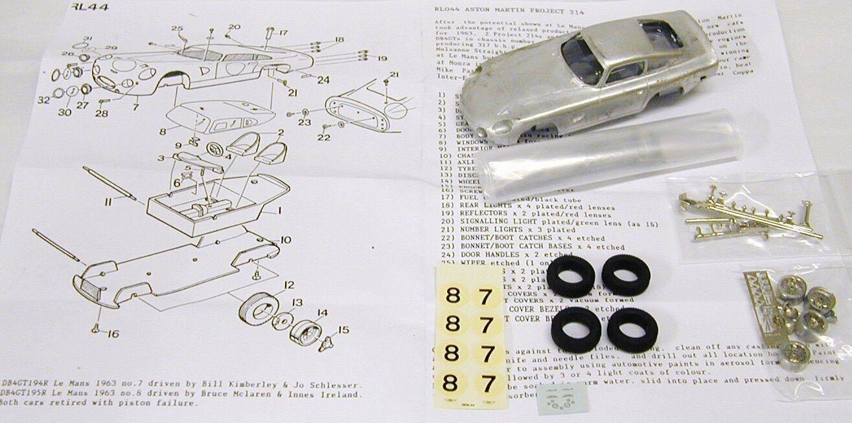 1 43 RL44 Kit de proyecto 214 Aston Martin
