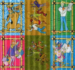 Scooby-Doo-Movie-1-Lenticular-Motion-Chase-Card-Set-L-1-thru-L-6