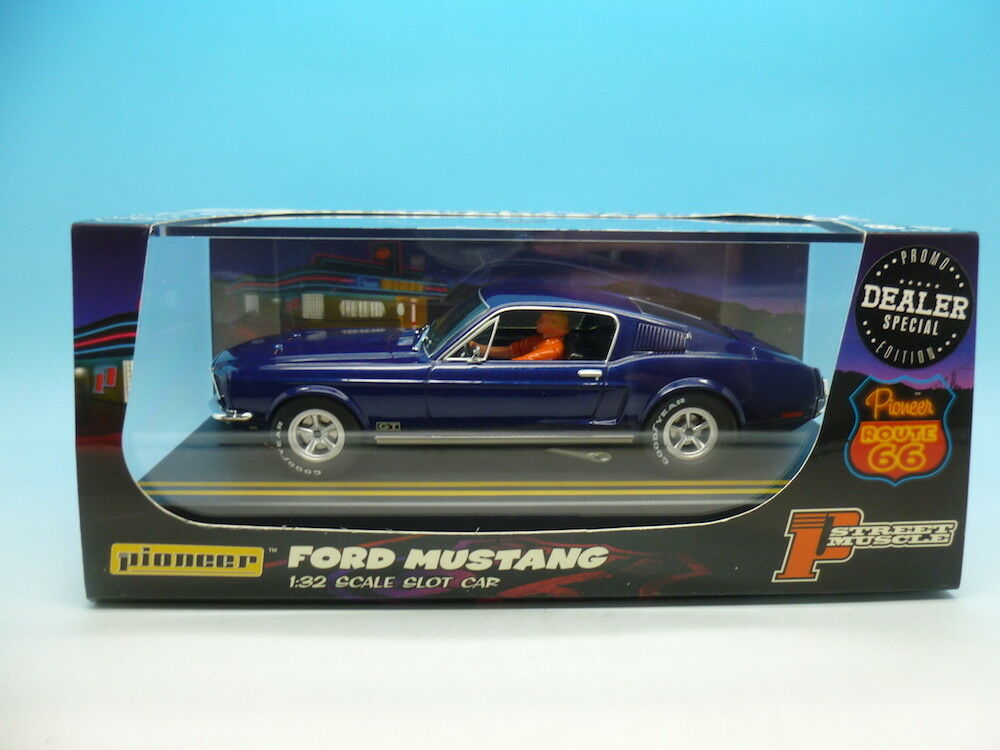 Pioneer Rare Dealer Special Ford Mustang route 66P055-DS, mint unused from facto