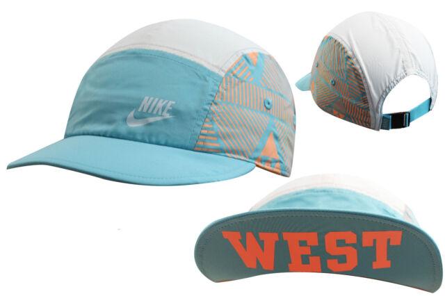 Nike Athletic Adjustable Blue Orange Womens Cycling Training Cap 412773 440  UW21 87e2c1898c9