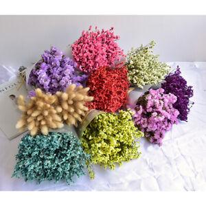 Gypsophila-Kuenstlich-Pflanze-Hochzeit-Anordnung-Dekor-Getrocknet-Blume-Suess-Fine