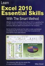 Learn Excel 2010 Essential Skills with the Smart Method : Courseware Tutorial...
