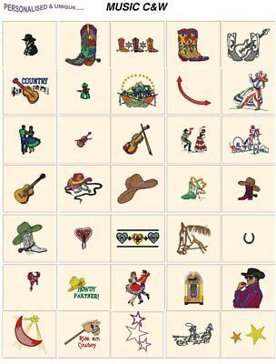 MUSIC CARD jef files for janome 300e machine embroidery designs