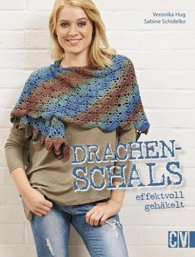 1 von 1 - Drachenschals effektvoll gehäkelt von Sabine Schidelko und Veronika Hug...