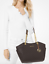 Michael-Kors-Jet-Set-Travel-Large-Chain-Shoulder-Tote-Leather-MK-Signature-PVC thumbnail 23