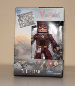 The-Flash-Vinimates-Justice-League-DC-Comics-4-034-Vinyl-Figure-Diamond-Select-NEW