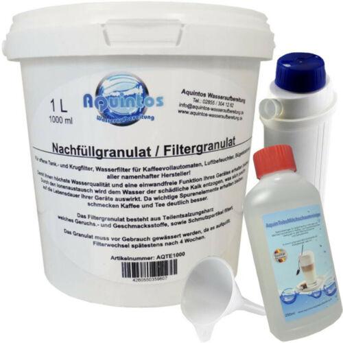 Nachfüll-Set /& Aquintos Milk Clean für DeLonghi Vollautomat Aquintos Spar-Tipp