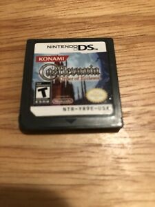 Castlevania-Order-of-Ecclesia-Nintendo-DS-Authentic-game-cart-only-Tested
