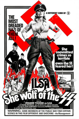 Ilsa She Wolf of the SS Movie Poster Glossy Finish Posters USA MCP837