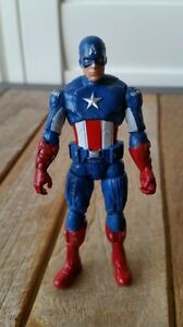 Captain-America-The-Avengers-Comic-Series-Action-Figure-New-Without-Tags-Box