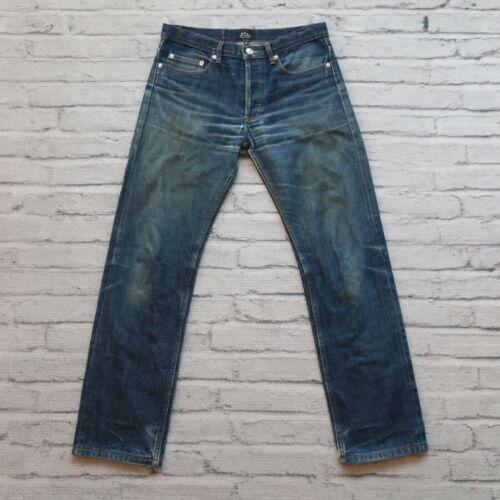 APC Jeans APC Corduroy Jeans Vintage APC Corduroy A.P.C Vintage Yellow Corduroy Jeans Made In France Size 29