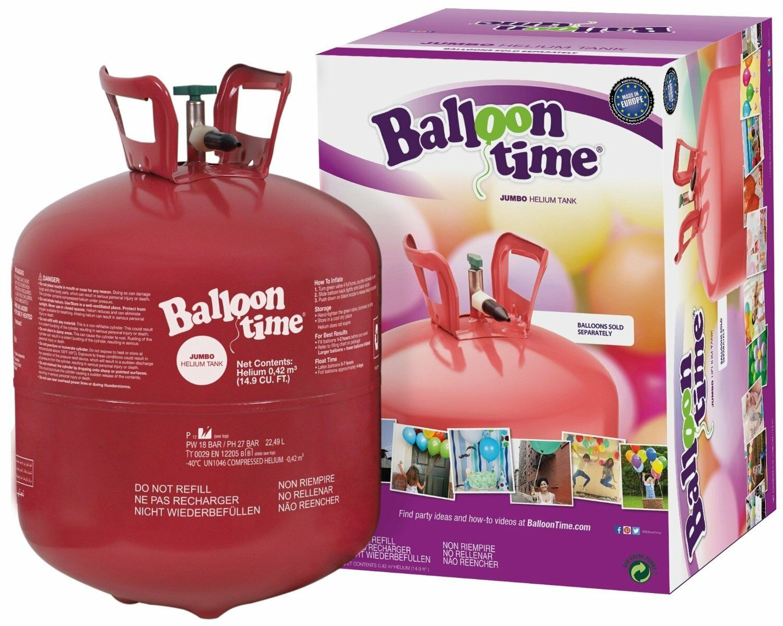 Helium jetable d'hélium bouteille gaz ballongas pour 50 Ballons Gonflable diapositives Ballon Ballon