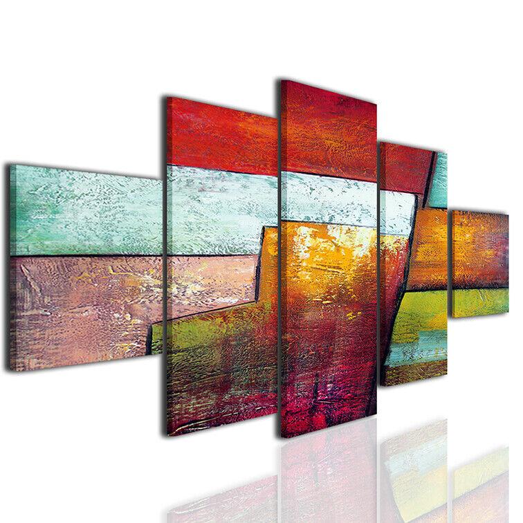 Quadri geometrici stampe a31 arroto canvas tele moderno ...