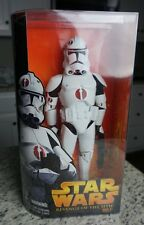 """Clone Trooper (RED) 2005 12"""" STAR WARS ROTS Revenge of the Sith MIB 1/6 Scale"""