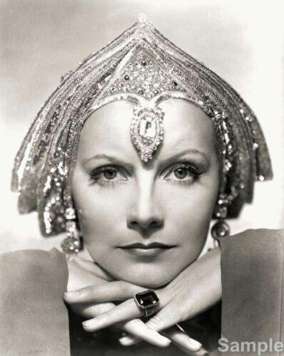 Greta Garbo As Mata Hari Film Movie Star 10x8 Black /& White Photo Print Poster