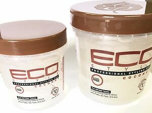 coconut for hair styling 8oz 16oz eco style coconut hair styling gel 6860