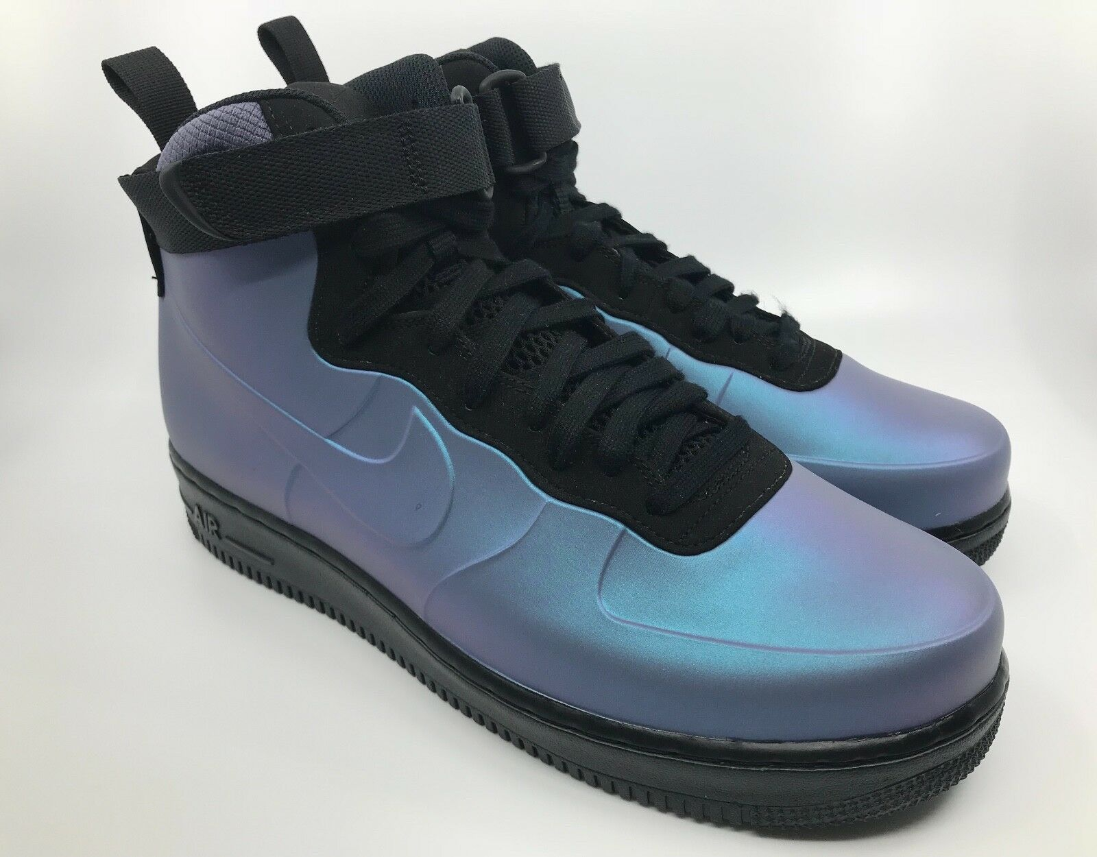 "Men's Nike Air Force 1 Foamposite Cup – ""Light Carbon"" (AH6771-002) Size 10"