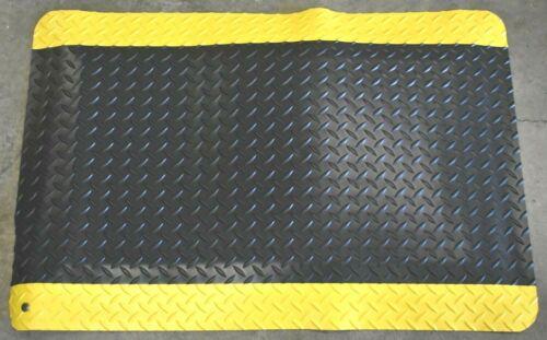 """Nuevo Wearwell anti fatiga ultrasuave Diamante Placa Biselado 15//16/"""" de espesor 2/'x3/' Mat"""