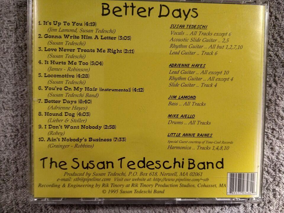 Susan Tedeschi Band: Better Days, rock