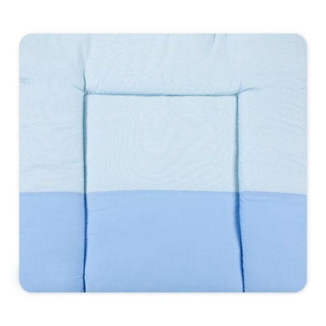 Wickelauflage im Design Sleeping Bear Blau Wickeltischauflage Wickelunterlage