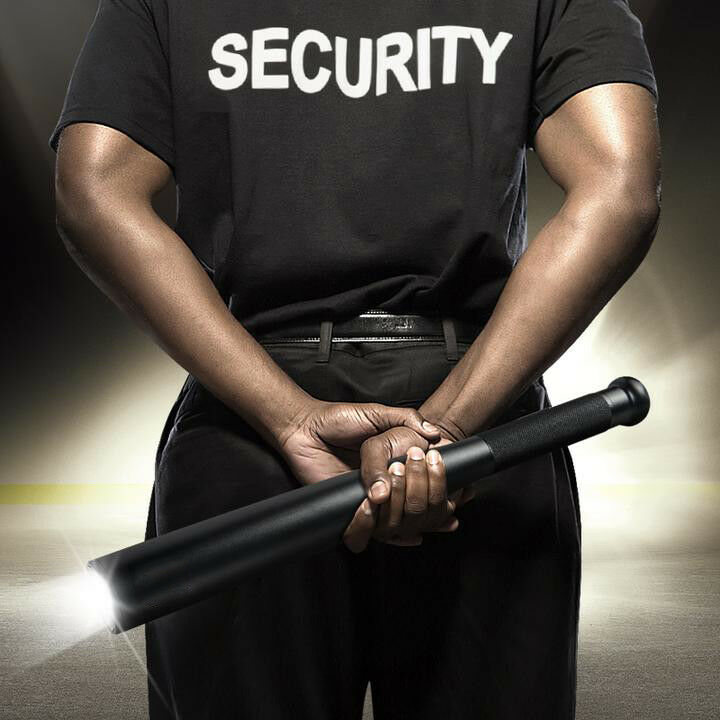 Taktische Baseball LED Taschenlampe SOS Baseball Keule Militärsicherheit Polizei