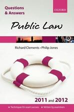Q & A Public Law 2011 and 2012 (Questions & Answers (Oxford))
