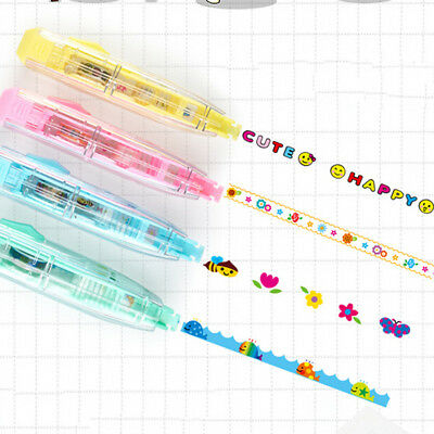 DIY Cute Cartoon Colorful Correction Tape School Supplies Kids Gift Stationery >