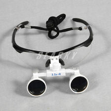 Dental 3.5X 420mm Dentist Surgical Medical Binocular Loupes Optical Glass USA