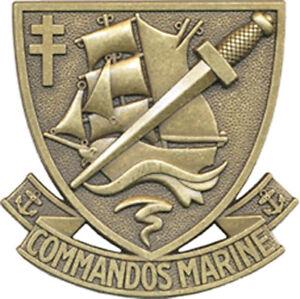 Autres Collections Commandos Marine Armée Française Insigne De Béret Des Forces Spéciales Pec Nu