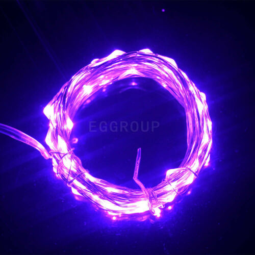 Electric//Solar//Battery Operated Home Garden Decor Fairy Lights String 20-600LEDs