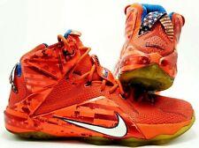 9c60c0fc59a item 1 Nike LeBron XII 12 USA Independence Day 4th July Crimson 684593-616  Men s 10 -Nike LeBron XII 12 USA Independence Day 4th July Crimson  684593-616 ...