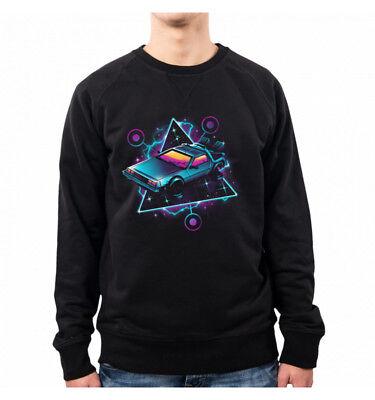Felpa Ritorno al Futuro Back To The Future Poster Sweatshirt maglia Uomo Hybris