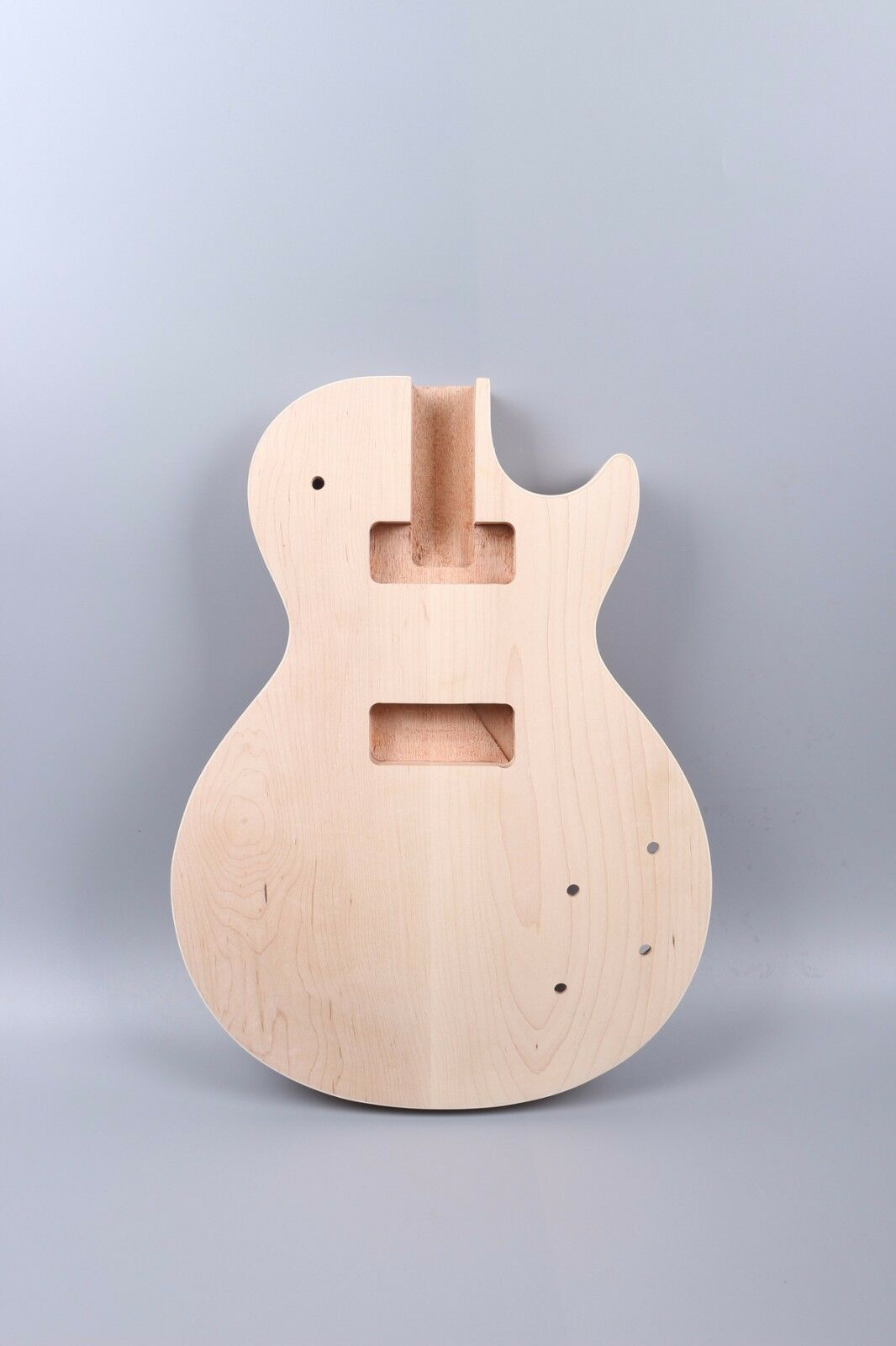 Unfinished Electric Guitar Body Replace mahogany+Maple Top Guitar Project  P90B