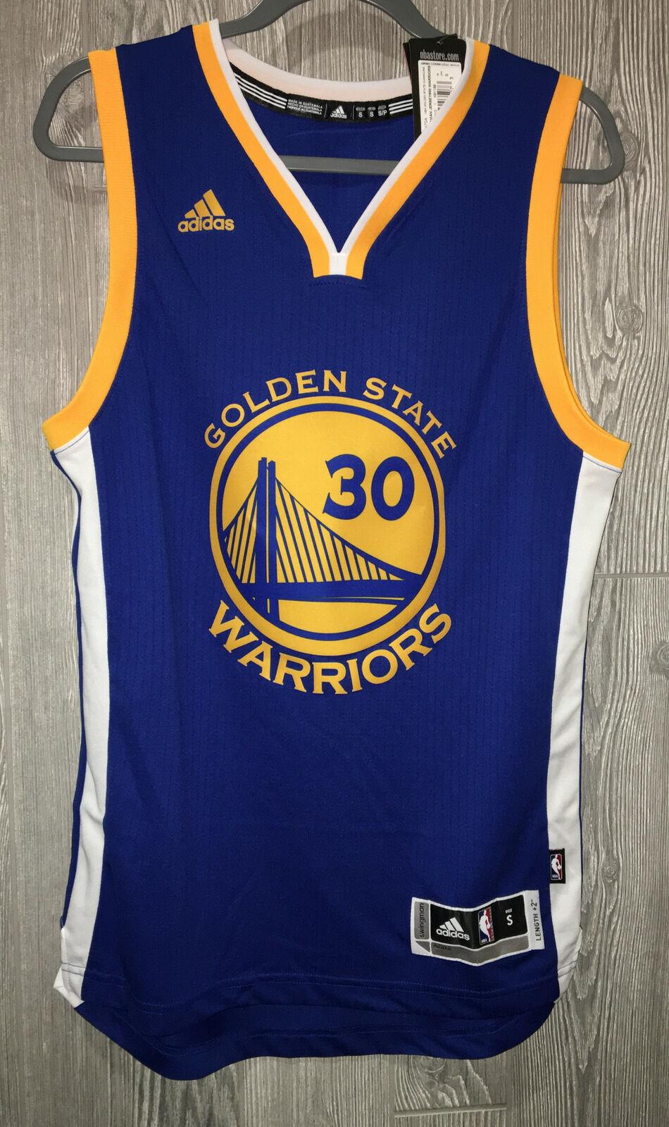 adidas Golden State Warriors Steph Curry Swingman Basketball ...