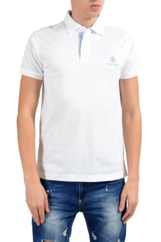 Roberto Cavalli Men/'s White Short Sleeve Polo Shirt Size S M L XL 2XL