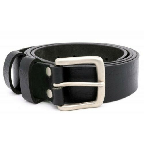 DC238 Duke Mens Gavin Kingsize Square Buckle Leather Belt