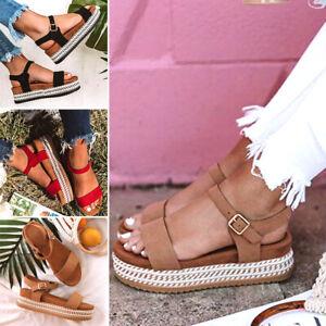 Summer Women Hemp Sandals Fashion Beach