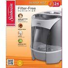 Sunbeam Warm Mist Humidifier White SWM6000-UM