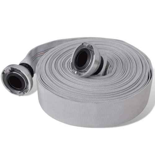 "Lay Flat 1/"" 2/"" Dia X 20M 30M Long With Quick Connect Couplings Bowser Fire Hose"