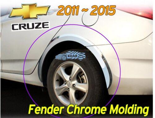 Fender Garnish Chrome Molding Trim 8P Silver K930 for Chevy Holden CRUZE 2011~15
