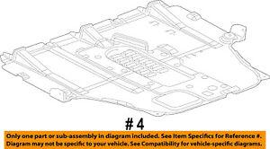 Dodge-CHRYSLER-OEM-Dart-Splash-Shield-Underbody-Under-Engine-Cover-68082724AH