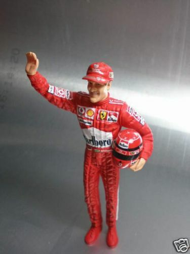 1//18 scale Michael Schumacher Figure for Hotwheels F1 Finshed product
