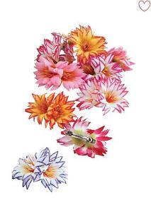 Femmes Cheveux Fleur Clips Hawaiian Fancy Dress Accessoires