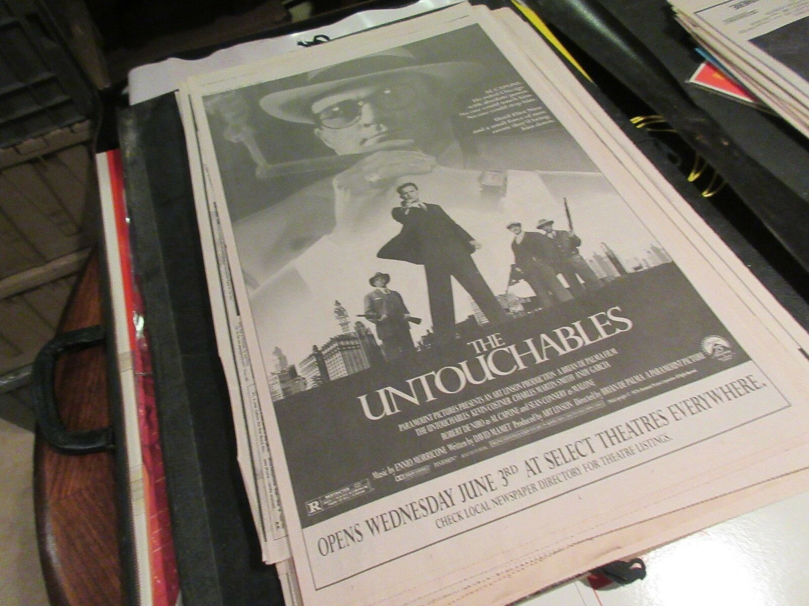 The Untouchables , USA Today , Newspaper Clipping / Pos