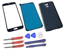 Samsung Galaxy S5 G900 Screen Replacement Front Glass Lens Repair Kit Black