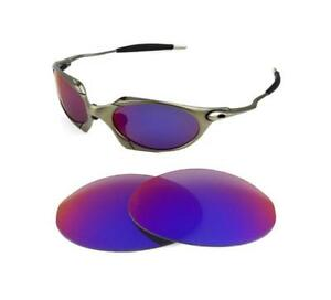50d13cefe3 Image is loading NEW-POLARIZED-REPLACEMENT-LIGHT-RED-LENS-FOR-OAKLEY-